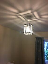 Vintage lantern style light shade