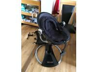 Bloom fresco highchair with newborn and toddler inserts