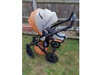 Good condition pram and carrycot to a good home.