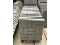 •New• Block Design Concrete Paving Flags / Slabs - 450x450x50mm