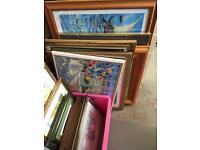 Selection of pictures/frames