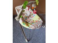 Woodland theme baby bouncer