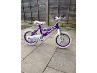 Huffy 14inch girls bike
