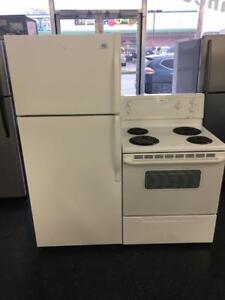 ECONOPLUS LIQUIDATION SALE ON WHITE DUO FRIDGES AND STOVES FROM 499.99 $ TAXES INCLUDED