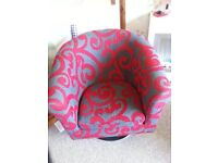 Beautiful upholstered Tub Chair