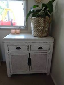 Shabby Chic White Storage Cabinet Canada Bay Canada Bay Area Preview