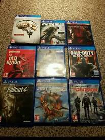 Ps4 games £15 each