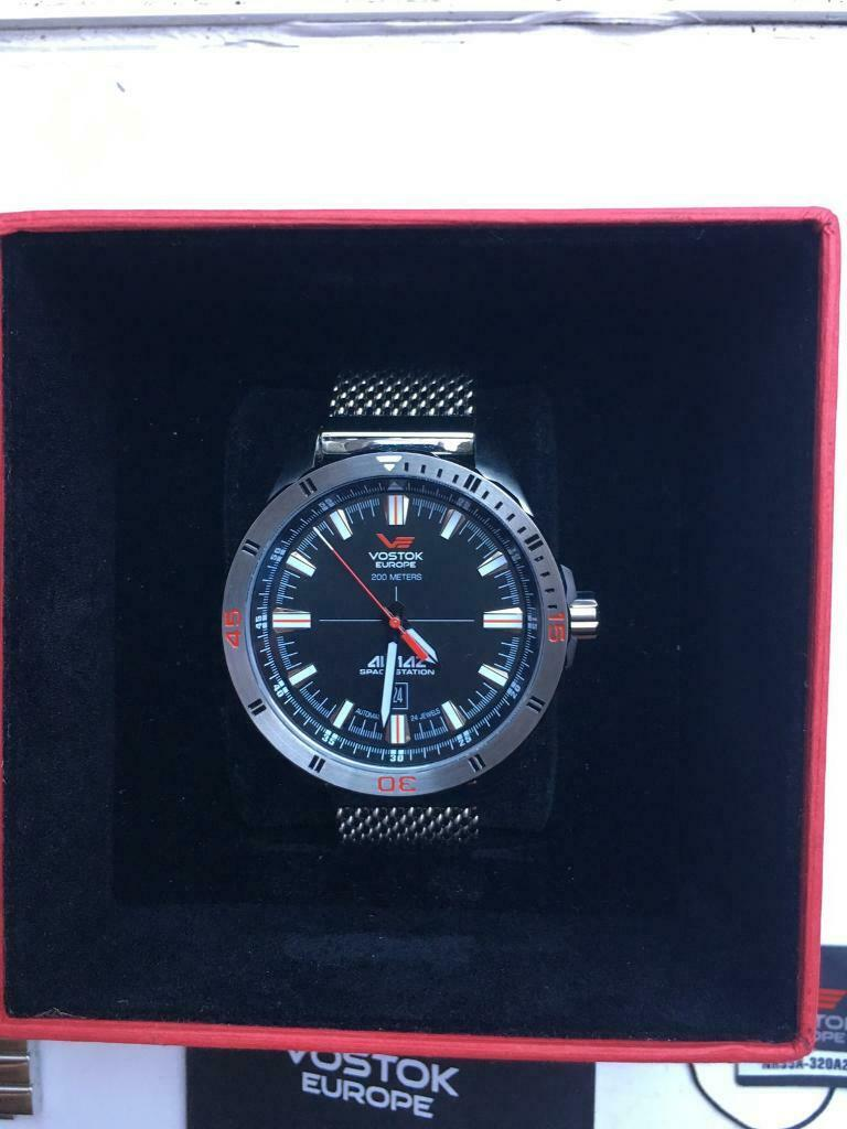 Vostok Europe Almaz Space Mens Limited Edition Automatic self Wind Watch NH35A | in Feltham, London | Gumtree