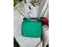 Petrol cans 5 litre