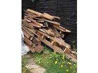 Wood - job lot