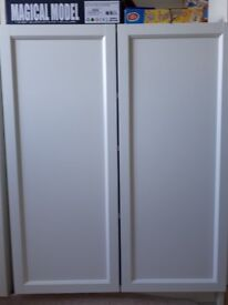 Pair of Ikea Oxberg Doors