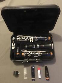 Yamaha YCL 250 Clarinet with Vandoren B45 Mouthpiece