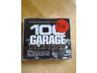 100 Garage classics. Box set of 4 cds, £2