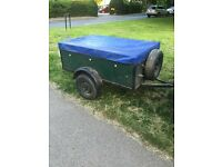 wooden box trailer