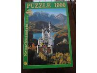 jigsaw of Castle Neuschwanstein