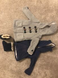 6-12 month winter coats and boots