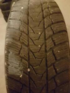 4 PNEU HIVER - IMPERIAL 185 65 15 - WINTER TIRES