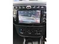 Fiat punto 1.2 new shape 2012 comes with all the hi Tec sat nav rear parking camera parking sensors