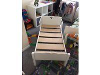 Little girls toddler bed