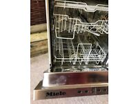 Fully Integrated Miele Dishwasher