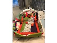 new baby colourful Play Yard,used a handful of times