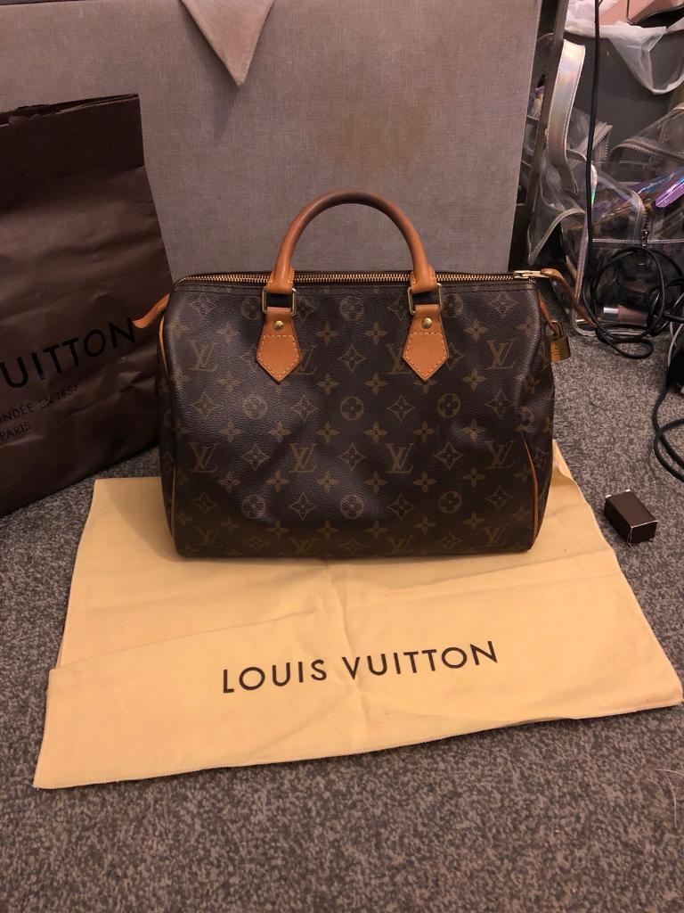 73a8cb8a1ba7 Authentic Louis Vuitton Speedy 30. Quorn ...