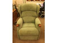 Armchair -electric recline and lift - excellent condition