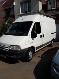 Man & van ( Van with roof rack & multi skilled handy man ) in Bristol & surroundings & beyond .