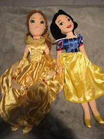Disney Princess rag-dolls (Disney Store)