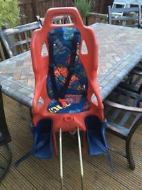 Infant bike seat