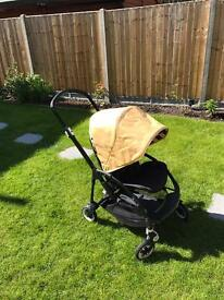 Bugaboo bee plus with loads of accessories and two colour hoods