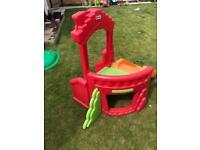 Toddler slide & climbing frame