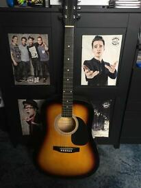 Squier Fender acoustic guitar