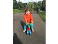 Lightweight beginner balance bike