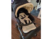 Silve Cross Sleepover Carrycot/Pram/pushchair