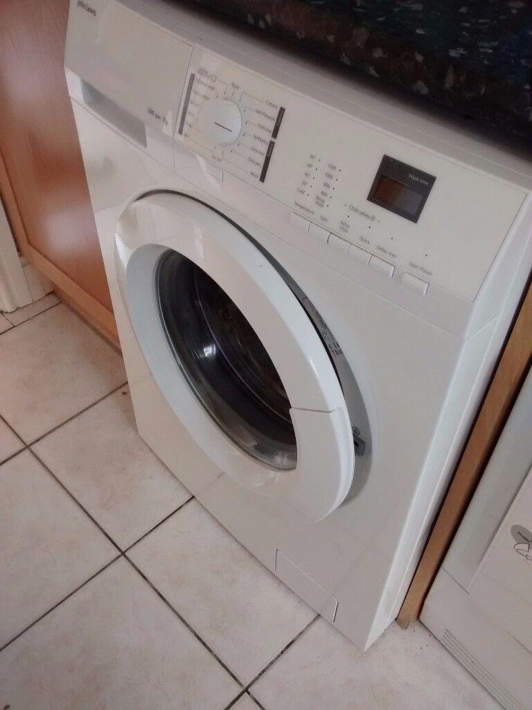 Washing machine John Lewis. Free. Working but has squeaky ...