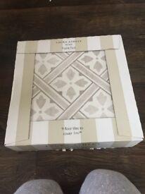 Laura Ashley Mr Jones Dove Grey tiles