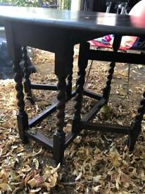 Antique table for 4 people