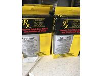Wood Rot Repair, 3 Bottles, Git Rot, for Window Sills, Boats etc