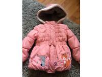 TU girls coat