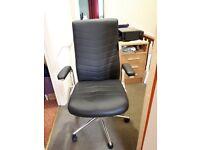 Martinez Executive Height Adjustable Office Chair - Black