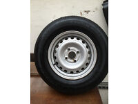 BRAND NEW WHEEL AND TYRE FOR SWIFT CARAVAN 165 X 80