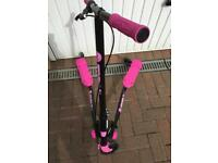 Yvolution Y Fliker A3 Air Scooter - Black/Pink