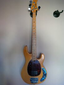 OLP (officially licensed product) Stingray Bass guitar (not ernie ball musicman)