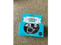 Single use disposable camera