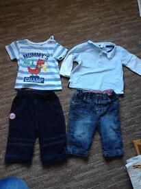 Junior j bluezoo 3-6 months boys clothes