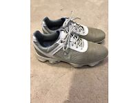 Gents Footjoy golf shoes - Size 10 in good condition - Collection only