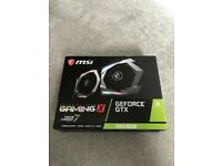 MSI GeForce GTX 1660 SUPER 6 GB GAMING X Graphics Card | Brand New & Sealed | In Hand | £500 ONO