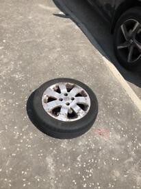 Corsa sxi alloy wheel 15 inch