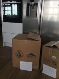 Cardboard boxes (removals)